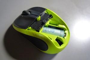 単4電池を単3型のスペーサーにセットして、M305にセット!